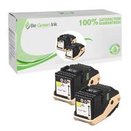 Xerox 106R02604 2 Pack Yellow Toner Cartridge BGI Eco Series Compatible