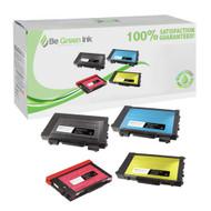 Xerox Phaser 6100 Toner Cartridge Savings Pack (C,K,M,Y) BGI Eco Series Compatible