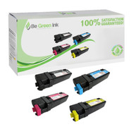 Xerox Phaser 6128 Toner Cartridge Savings Pack (C,K,M,Y) BGI Eco Series Compatible