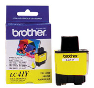 Brother LC41Y Yellow Ink Cartridge Original Genuine OEM