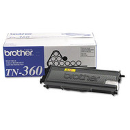 Brother TN360 Black Toner Cartridge Original Genuine OEM