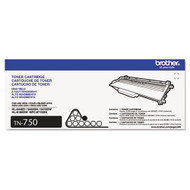 Brother TN750 Black Laser Toner Cartridge Original Genuine OEM