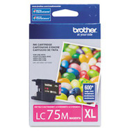 Brother LC75M Magenta Ink Cartridge Original Genuine OEM