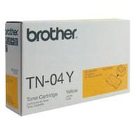 Brother TN04Y Yellow Toner Cartridge Original Genuine OEM