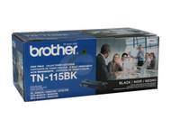 Brother Genuine TN115BK Black Toner Cartridge Original Genuine OEM