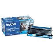 Brother Genuine TN115C Cyan Toner Cartridge Original Genuine OEM