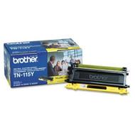 Brother Genuine TN115Y Yellow Toner Cartridge Original Genuine OEM