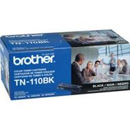 Brother TN-110BK Black Toner Cartridge 2,500 Page Yield Original Genuine OEM