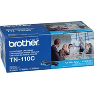 Brother TN-110C Cyan Toner Cartridge 1,500 Page Yield Original Genuine OEM