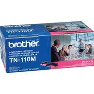 Brother TN-110M Magenta Toner Cartridge 1,500 Page Yield Original Genuine OEM