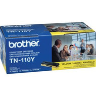 Brother TN-110Y Yellow Toner Cartridge 1,500 Page Yield Original Genuine OEM