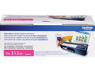Brother TN-315M Magenta Laser Toner Cartridge 3,500 Page Yield Original Genuine OEM