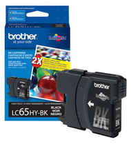 Brother LC65HYBK High Yield Black Ink Cartridge Original Genuine OEM