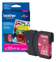 Brother LC65HYM High Yield Magenta Ink Cartridge Original Genuine OEM