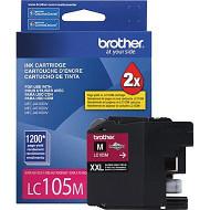 Brother LC105M Super High Yield Magenta Ink Cartridge Original Genuine OEM