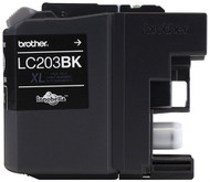 Brother LC203BK High Yield Black Ink Cartridge Original Genuine OEM