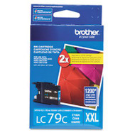 Brother LC79C Cyan Ink Cartridge Original Genuine OEM