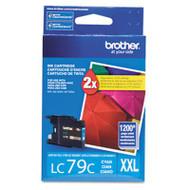 Brother LC79C Cyan Ink Cartridge Original Genuine OEM