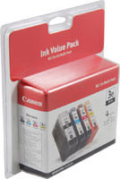 Canon 4479A230 Combo Pack (K/C/M/Y) Ink Cartridge Original Genuine OEM