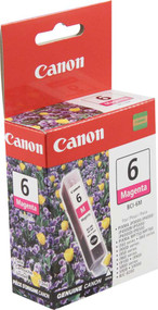 Canon 4707A003 (BCI-6M) Magenta Ink Cartridge Original Genuine OEM