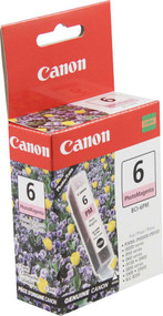 Canon 4710A003 (BCI-6PM) Photo Magenta Ink Cartridge Original Genuine OEM