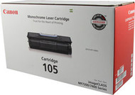Canon 0265B001AA (105) Black Toner Cartridge Original Genuine OEM
