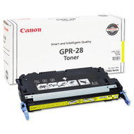 Canon 1657B004AA (GPR-28) Yellow Toner Cartridge Original Genuine OEM