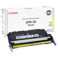 Canon 1657B004AA (GPR-28) Yellow Toner Cartridge Original Genuine OEM