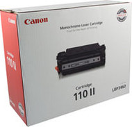 Canon 0986B004AA (CRG-110) Black Toner Cartridge Original Genuine OEM