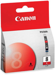 Canon 0626B002 (CLI-8R) Red Ink Cartridge Original Genuine OEM