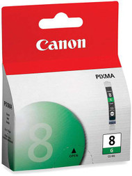 Canon 0627B002 (CLI-8G) Green Ink Cartridge Original Genuine OEM