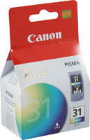 Canon 1900B002 (CL-31) Color Ink Cartridge Original Genuine OEM