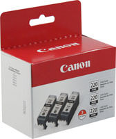 Canon 2945B004 3-Pack Black Ink Cartridge Original Genuine OEM