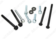 1965-68 Water Pump Bolts w/o AC