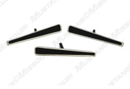 1970-1973 Ford Mustang deluxe steering wheel pad inserts.