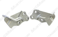 1964-1965 Ford Mustang engine mounting brackets, cast iron, pair.