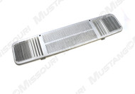 1964-1966 Ford Mustang dash speaker and defroster duct grille cover.