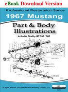 1967 Ford Mustang Part & Illustrations Manual