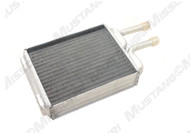 1967-1973 Ford Mustang aluminum heater core for models with factory air conditioning.