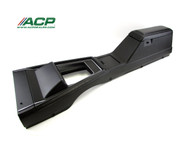 1971-1973 Ford Mustang floor console assembly for manual or automatic transmission.