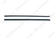 1987-1993 Ford Mustang outer door beltline weatherstripping, pair.