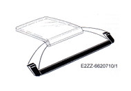 1981-1988 Ford Mustang T-Top panel weatherstripping