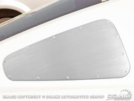 2005-2009 Mustang quarter window covers Satin