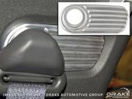 2005-2007 Ford Mustang shoulder belt mount accents
