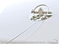 2005-2009 Ford Mustang Stainless steel hood pin kit.