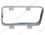 1965-1973 Ford Mustang brake pedal pad trim, manual transmission.