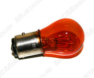 1967-1970 Ford Mustang parking lamp bulb, amber.