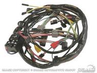 1968 Underdash Wiring Harness No Options