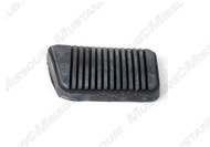 1965-1968 Ford Mustang clutch pedal pad.