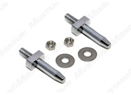 1964-1968 Ford Mustang convertible dowel pins, pair.